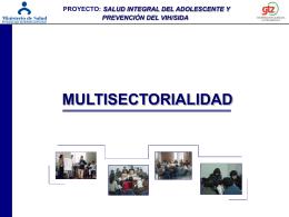 8.- Multisectorialidad