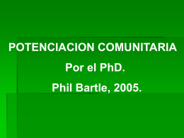 Potenciacion Comunit..
