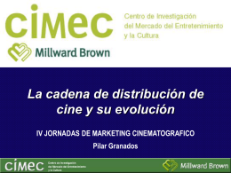 Pilar Granados. Directora General de CIMEC – MILLWARD BROWN