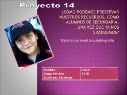 Diana Patricia Gutiérrez Cárdenas