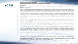 Cv Ibonne Mejias 01302012- - CBM Ingeniería Exploración y