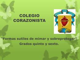 La afectividad - Colegio Corazonista