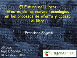 El Futuro del Libro: Efectos de las nuevas tecnologías en