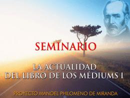 Apresentação do PowerPoint - Projeto Manoel Philomeno de Miranda