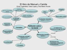 El libro de Manuel y Camila Ernst Tugendhat, Celso López y ana