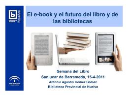 El ebook y el futuro del libro