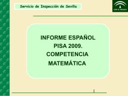 Competencia Matemática PISA 2009