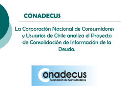 CONADECUS - Comite Retail Financiero