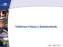 Falsos y substandares - eCOM-LAC