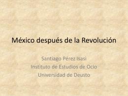 México después de la Revolución