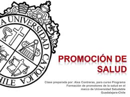 Presentación de PowerPoint - Centro Universitario de Ciencias de