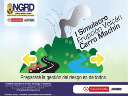 Presentacion-Simulacro - Unidad Nacional para la Gestión del