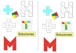 Pasatiempos recortables - matematicas Ricardo Vazquez