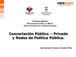 SEMINARIO CEPAL Jose Ignacio Porras y Ruben Pino