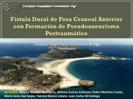 Fístula Dural de Fosa Craneal Anterior con Formación de