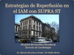 nuevas estrategias de reperfusion