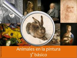 Animales en la pintura