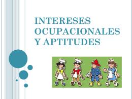 Intereses y habilidades ocupacionales