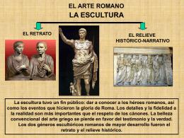 el retrato romano