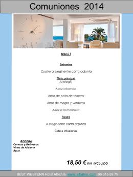 Diapositiva 1 - Hotel BEST WESTERN Hotel Albahía