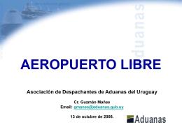 presentación - Asociacion de Despachantes de Aduana del
