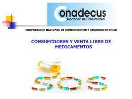 Consumidores y Venta Libre de Medicamentos.