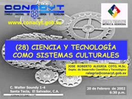 CIENCIA, TECNOLOGÍA Y SOCIEDAD EN EL SIGLO XX
