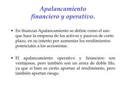Apalancamiento_pp - Prof. Pablo Emilio Hurtado