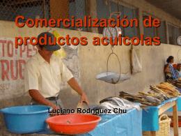 Comercialización de productos acuicolas