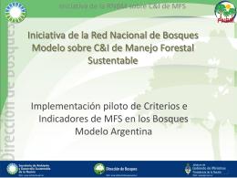 Presentación RNBM - Secretaría de Ambiente y Desarrollo