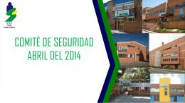 COMITE DE SEGURIDAD ABRIL DEL 2014