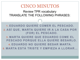 CINCO MINUTOS - WordPress.com