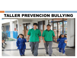 Bullying -Marco teórico *Archivo en Power Point