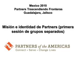 Mexico 2010 Partners Trascendiendo Fronteras Guadalajara, Jalisco