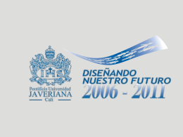 Colombia desde la región - Pontificia Universidad Javeriana, Cali