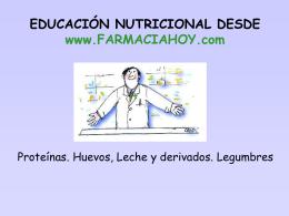 EDUCACIÓN NUTRICIONAL DESDE www