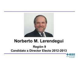 Norberto Lerendegui