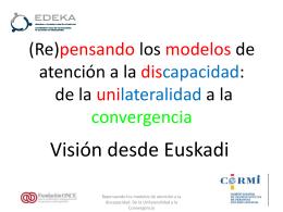Presentación Visión desde Euskadi- Edeka