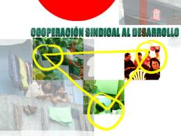 Por qué a la cooperación sindical al desarrollo