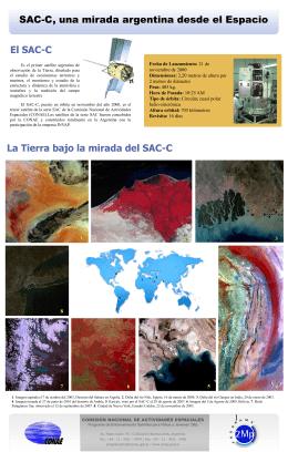 SAC-C, una mirada argentina desde el Espacio