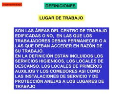 LUGARES DE TRABAJO 2