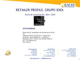 Histórico de Grupo IDEA