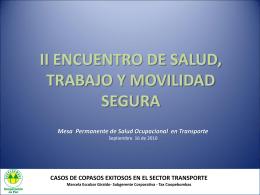 II ENCUENTRO DE SALUD, TRABAJO Y MOVILIDAD con sg (3