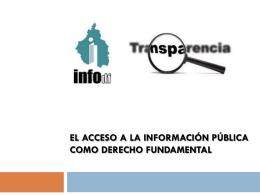 Iniciativas - Instituto de Acceso a la Información Pública y