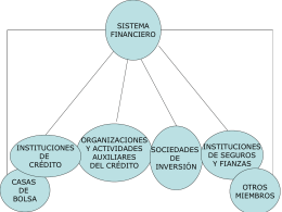 Actores del Sistema Financiero
