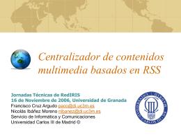 ARCA: Agregador RSS para la Comunidad Académica