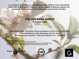 Diapositiva 1 - Comunidad Autónoma de la Región de Murcia