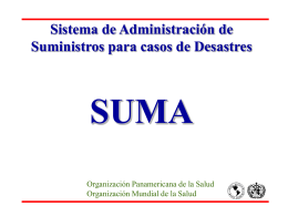 SUMA - crisode