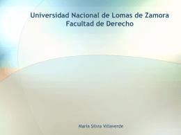 Obligación alimentaria - María Silvia Villaverde
