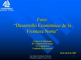 Presentación: COPARMEX Nuevo León